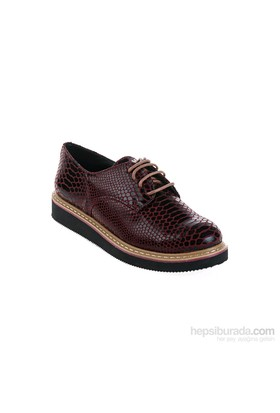 Derigo Kadın Günlük Ayakkabı Bordo