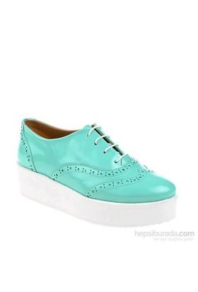 Derigo Kadın Sneakers Su Yeşili