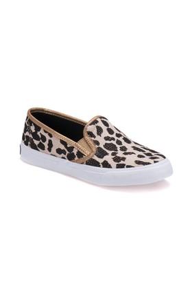 Sperry Top Sider Sts91579 Siyah Leopar Kadın Ayakkabı