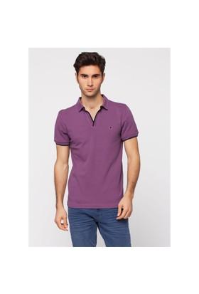 Adze Menekşe Erkek Polo Yaka T-Shirt