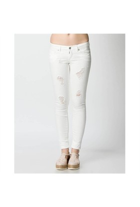 Only Jean Pantolon Onlcoral Sl Sk Jeans D500 15096174-Wht