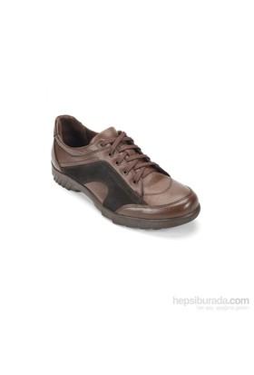 Ramero Erkek Günlük Ayakkabı Kahverengi Siyah