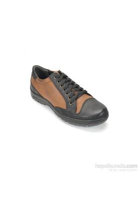 Ramero Erkek Günlük Ayakkabı Siyah Taba