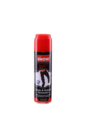 Show Süet Nubuk Sprey 250 ml Siyah