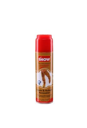 Show süet nubuk sprey 250ml camel