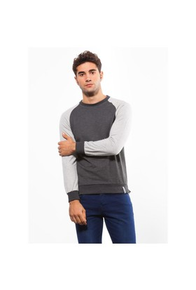 Adze Antrasit Erkek 2 İplik Sweatshirt