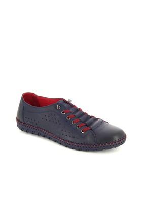 Hammer Lacivert Deri Günlük Ayakkabı 31503M23