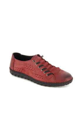 Hammer Bordo Deri Günlük Ayakkabı 31503M26