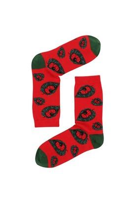 The Socks Company Love Bugs Desenli Kadın Çorap 36-40 Numara