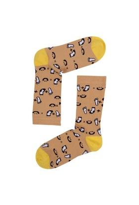 The Socks Company Hap Happy Desenli Kadın Çorap 36-40 Numara