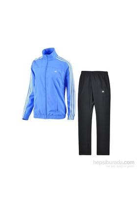 Adidas S22512 3S Woven Suıt Adidas Kadın Eşofman Mavi