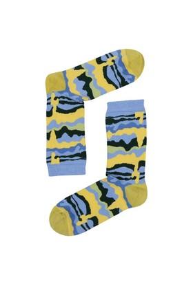 The Socks Company Slimey Desenli Kadın Çorap 36-40 Numara