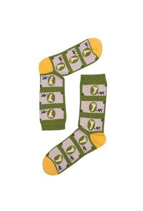 The Socks Company High Priced Desenli Kadın Çorap 36-40 Numara