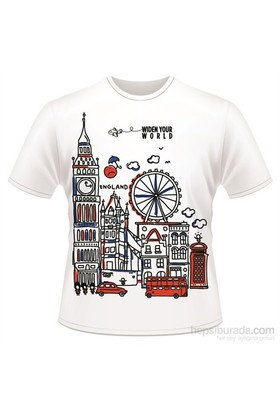 Tk Collection England T-Shirt Large