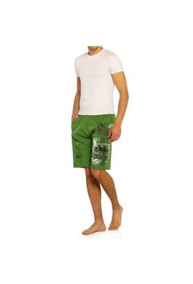 Erkek Şort - Sport - 11206 - Yeşil