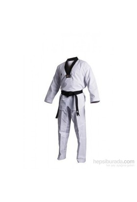 Adidas Taekwondo Elbisesi - Siyah Yaka