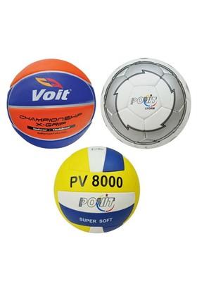 B-Sport Futbol - Basketbol - Voleybol Top Seti