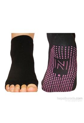 Norfolk Kadın Pilates&Yoga Çorabı Siyah