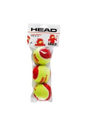 Head Çocuk Tenis Topu Tıp 3Lü 5-8 Yaş Kırmızı Top
