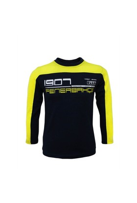 Fenerbahçe Lisanslı Unisex Çocuk Sweatshirt Lacivert