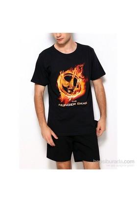 Köstebek The Hunger Games Erkek T-Shirt