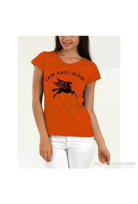 Köstebek Camp Half Blood Kadın T-Shirt