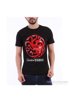 Köstebek Game Of Thrones Targaryen Erkek T-Shirt