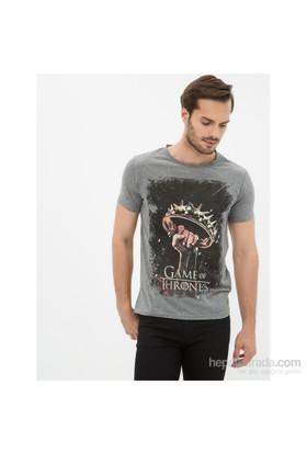 Koton Antrasit T-Shirt