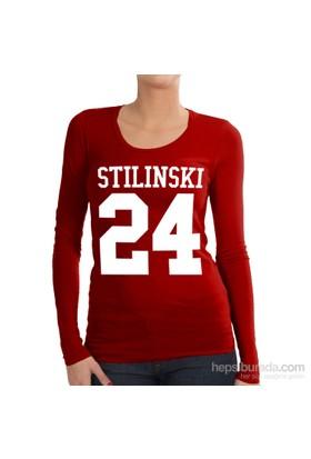 Köstebek Teen Wolf - Stilinski 24 Kadın Uzun Kollu T-Shirt