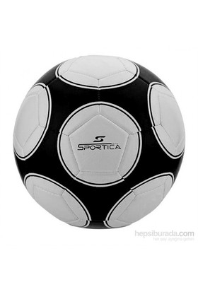 Sportica BF-400 Futbol Topu Makina Dikişli No:5 Siyah / Beyaz