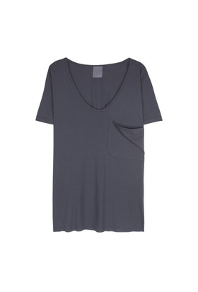 Lot 78 Cep Detaylı Boyfriend T-Shirt