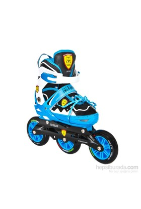 Büyük Tekerlekli Yarış Pateni Mavi