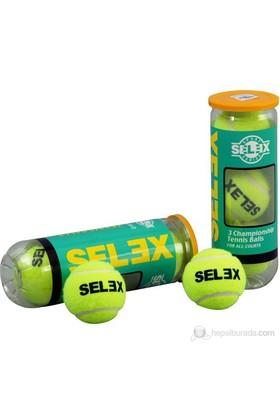 Selex 612 Tenis Topu Vakum Kutu 3'Lü