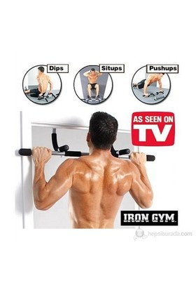 Spedymax Çok Fonsiyonlu Iron Gym New Generation Kapı Barfiksi + Mekik&Şınav Çekme Aleti
