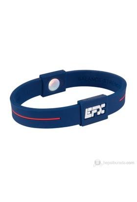 EFX Sport Silikon Bileklik Mavi Kırmızı Beyaz