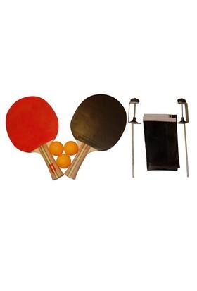 Dunlop Masa Tenisi Seti (2 Raket + 3 Top + 1 Ağ - File)