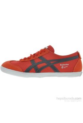 Onitsuka Tiger Mexico 66 Vulc Kadın Kırmızı Spor Ayakkabı (D3a8n-