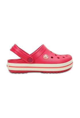 Crocs Terlik Crocband Kids P022559-10998-604 Raspberry/White