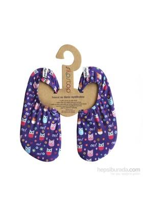 Slipstop Button Kız Çocuk Kaydırmaz Ayakkabı/Patik