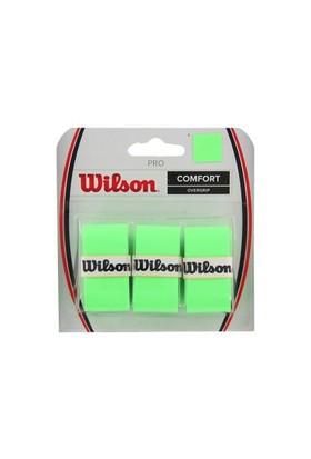 Wilson Wrz4014Gr Pro Overgrip Yeşil 3 Lu Paket Aksesuarlar