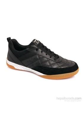 Lig Monaco Kauçuk Tabanlı Voleybol-Hentbol-Futsal Ayakkabısı Siyah