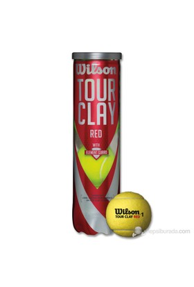 Wilson Wrt 110800 Tour Clay Red 4Lü Tenis Topu