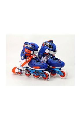 Vardem Mavi Pro Slalom Paten (32-35 Numara) Ayarlanabilir