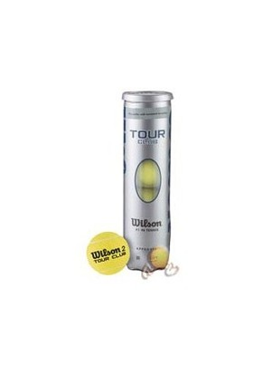 Wilson Tenis Topu 4'lü Tour Club ( WRT114600 )