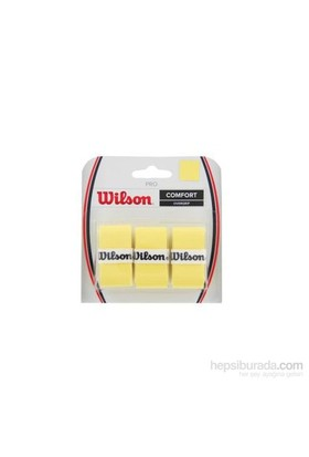 Wilson Pro Overgrip 3'lü YE ( WRZ4014YE )