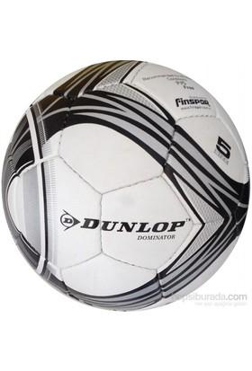 Dunlop Dominator Silver / Black Futbol Topu No:5