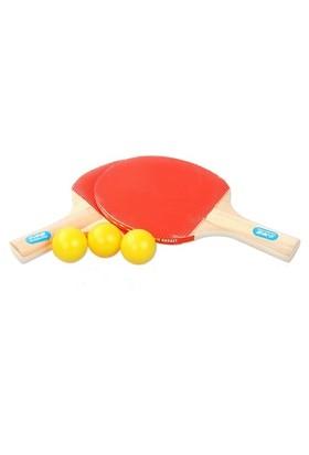Buffer Masa Tenisi Seti (2 Raket + 3 Top)