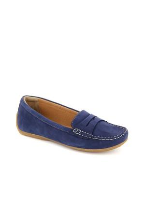 Clarks Lacivert Deri Loafer 26116997