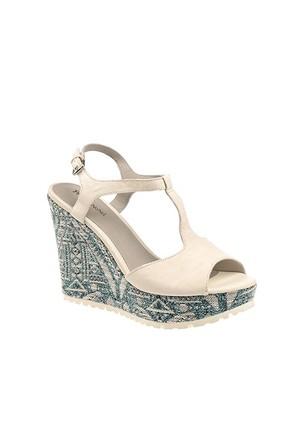Pretty Nana Rock 281035 Kadın Ayakkabı Bıanco