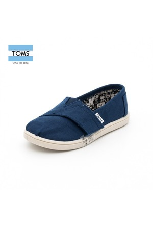 Toms 013001D13 Navy Canvas Nvy